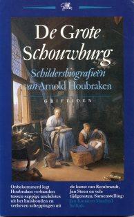 Buchcover rnold Houbraken: De grote schouwburg. Schildersbiografieën