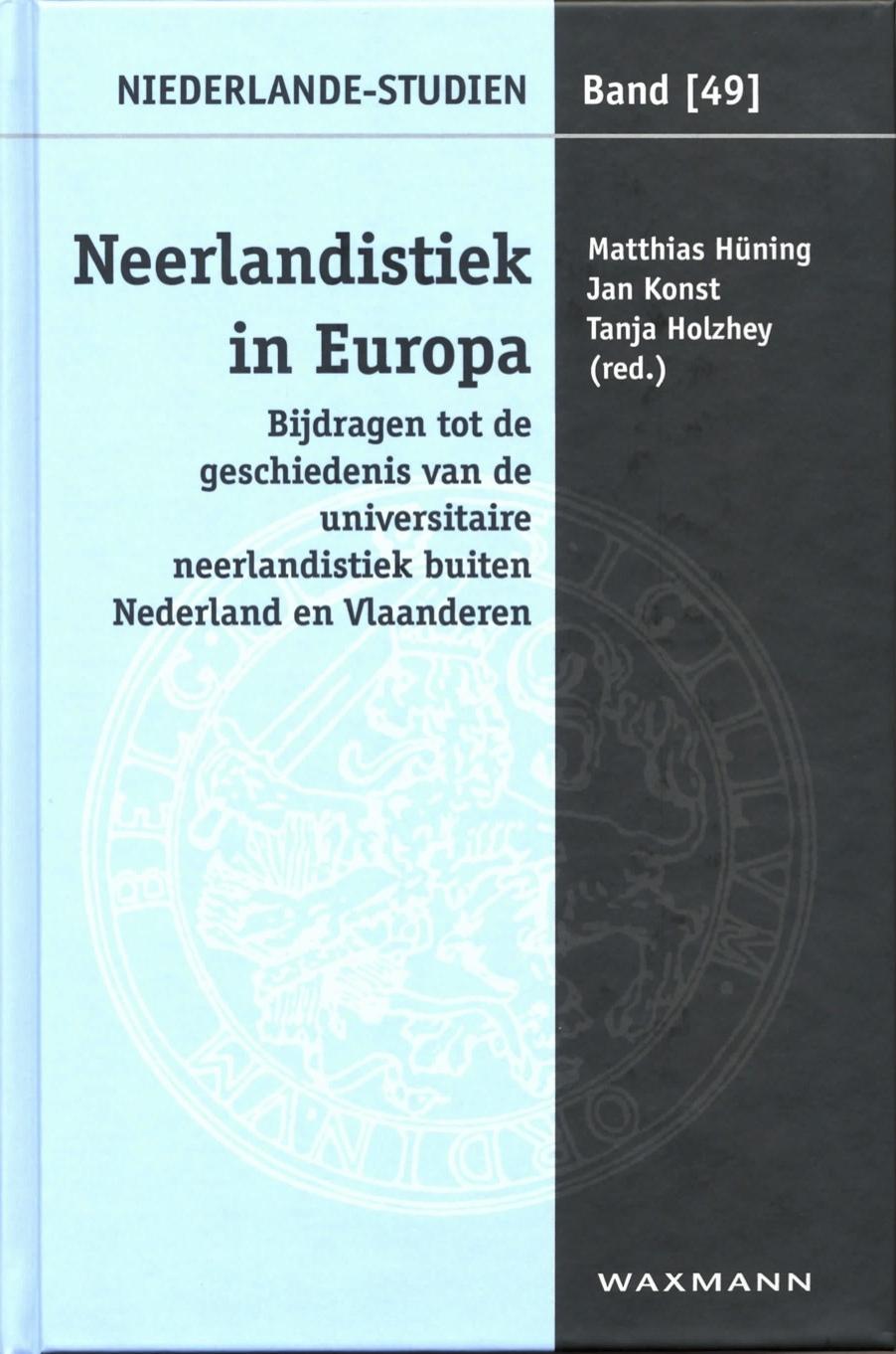 Neerlandistiek in Europa