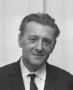 Burgemeester Kolfschoten, Louis Paul Boon, Hanny Michaelis en Jacques Presser (1967)